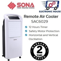 ★ Sona SAC6029 Remote Air Cooler ★ (2 Years Singapore Warranty on Motor)