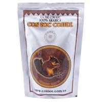 【越南咖啡】松鼠CON SOC 阿拉比卡咖啡粉大包裝 (500克)