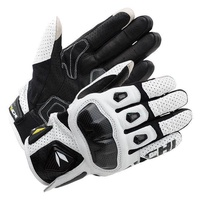 3 Color RS TAICHI RST410 Cowhide Perforated Carbon Fiber Racing Gloves