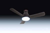 KDK U48FP Remote Ceiling Fan (DC Motor with Light)