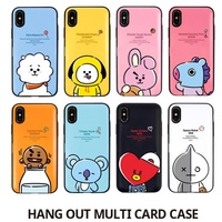 BTS BT21 official product Card Bumper Case for iPhone