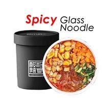 Hot Pot Spicy Sour Glass Noodle Instant Spicy Vermicelli Potato Noodles 136g/cup