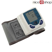 LingTud Health Care Automatic Digital LCD Wrist Blood Pressure Monitor For Measuring Heart Beat And Pulse Rate