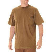 【DICKIES】WS450 重磅 素面 口袋Logo 短T (駝色BD) 化學原宿