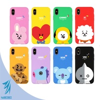 BTS BT21 Official Product Soft Case for iPhone & Galaxy