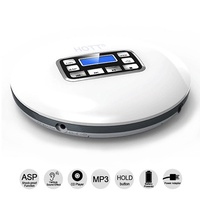 HOTT Portable CD Player Music CD Walkman Small MP3/CD Player with Headphones for Kid Adult