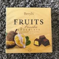 代購 馬來西亞 Beryl's 倍樂斯 fruits fiesta 榴槤巧克力、芒果巧克力-預購