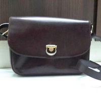 Braun Buffel Leather Sling Bag