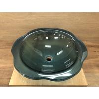 強化玻璃面盆 洗臉盆 上盆 碗公盆 圓形(BBD12S-HW)