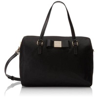 kate spade new york Veranda Place Nylon Cleary Duffle Bag,Black,One Size - intl