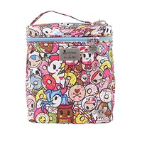 Ju-Ju-Be Tokidoki Collection Fuel Cell Insulated Bottle and Lunch Bag, Tokipops