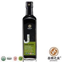 喜樂之泉 有機青仁黑豆醬油(500ml)