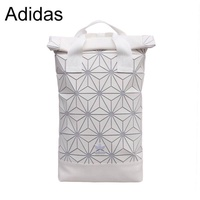 Adidas issey miyake diamond geometry backpack male and female all-purpose computer pack students school bags