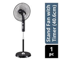 Toyomi Stand Fan with Timer - 40.6cm