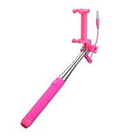 Mpow Selfie Stick, Mini Portable Monopod with 3.5mm Wire Connecting for Android/IOS Phone/Gopro Camera [並行輸入品]