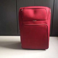 Delsey 2 wheeler XL red luggage