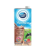 Dutch Lady Purefarm Uht Milk - Chocolate (1L X 6)
