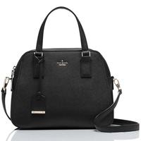 Kate Spade Cameron Street Little Babe Satchel Crossbody Bag Handbag Black # PXRU7445 + Gift Receipt