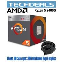 AMD RYZEN 5 2400G Wraith Stealth 65W Cooler