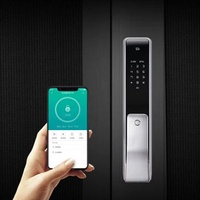 YOUDIAN M2 Smart Automatic Fingerprint Sliding Lock Password Keyless Security Door Lock from XIAOMI youpin