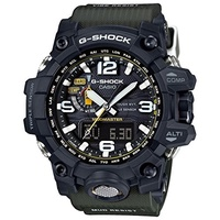Casio G-Shock Mudmaster Black-Tone Dial Resin Quartz Men s Watch GWG1000-1A3