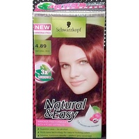 schwarzkopf 施華蔻怡然染髮霜 染髮劑 蓋白染 高貴珊瑚紅 紅色 美髮