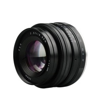 YANYI Meike MK-E-50mm-f/2.0 Large Aperture Manual Focus Lens APS-C for Sony E Mount