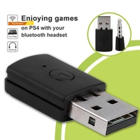 【RAC】Bluetooth 4.0 Dongle 3.5mm Headphone USB 2.0 Adapter Receiver for PS4 Controller