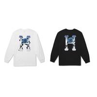 【HOMIEZ】HUF ICE ROSE CLASSIC H L/S TEE【TS00464】水藍漸層 玫瑰 黑 白
