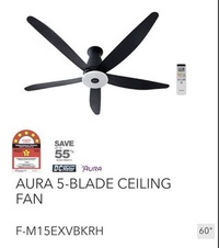 "Panasonic Ceiling Fan F-M15EX (60"") new"
