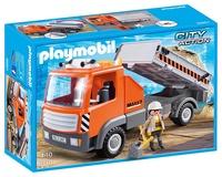 (卡司 正版現貨) Playmobil Special Plus 摩比人 砂石車 PM06861 摩比積木 禮物