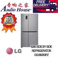LG GS-B6263PZ 626L SIDE BY SIDE FRIDGE ***2 YEAR LG WARRANTY***