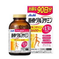 日本Asahi 朝日 葡萄糖胺+軟骨素膠原錠 90天份