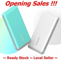 Romoss Arrow 10 10000mAh Powerbank 2.1A Fast Charging ~ Ready Stock ~ Fast Delivery ~