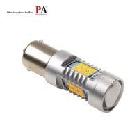 【PA LED】1156 P21W 單芯 21晶 2835 SMD LED 黃光 高亮度 方向燈 日行燈