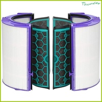 Fan Filter Accessories Activated Carbon Air Purifier for Dyson P04 DP04 HP04