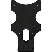 WALI VDE001 VESA Mount Adapter Bracket for Dell S-Series Monitors - S2340L, S2340M, S2240L, and S2240M, 1 Pack, Black - intl