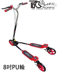 TIG 啟思 大型蛙式滑板車 蛙式車 健身車 踏步機 大蛙 龍行車 搖擺車