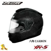 ~任我行騎士部品~M2R XR-5 全罩 安全帽 六角碳纖維 CARBON 碳纖維 輕量 F5進化版 XR5