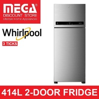 WHIRLPOOL TM465VCCUI 414L INTELLIFRESH 2-DOOR FRIDGE