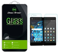 ▶$1 Shop Coupon◀  Dmax Armor for ZTE Axon M [Tempered Glass] Screen Protector with Lifetime Replacem