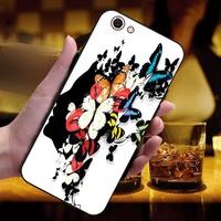 For VIVO Y71 Girl Silicon Case Cover