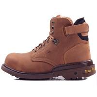 LJB 男款 凱欣 KS MIB MGA532 真皮鋼頭固特異高筒 安全鞋 工作鞋 戰鬥靴