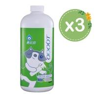【臭味滾】貓用/除臭抑菌噴霧補充瓶1000ml/三入組