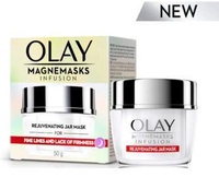 New Olay Magnemasks Infusion Rejuvenating Jar Mask- reduce the look of wrinkles visibly firm skin