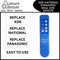 Fan Remote KDK / Panasonic / National Wall Fan Remote Control Wall Fan Remote for KDK Fan Remote Panasonic Fan Remote National Fan Remote