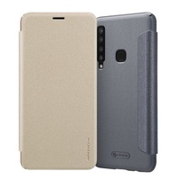 Nillkin Flip PU Leather Full Body Cover Protective Case for Samsung Galaxy A9s / A9 Star Pro / A9 2018