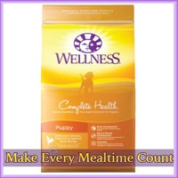 WELLNESS complete health- dog dry food (puppy) 30lb