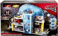 (Mattel) Disney/Pixar Cars 3 Florida Speedway Mega Garage, PLAYSET KIDS BOYS TOY MCQUEEN-