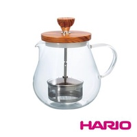 HARIO 橄欖木濾壓茶壺 TEO-70-OV單一規格